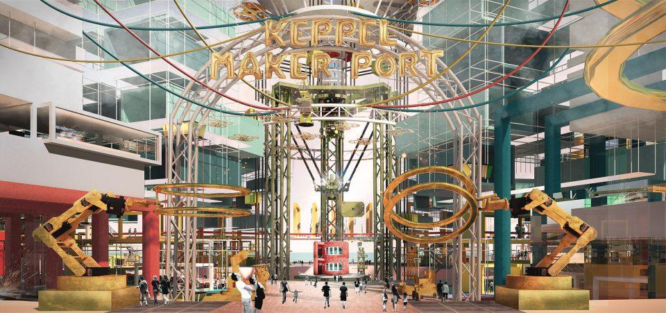 Keppel Maker Port