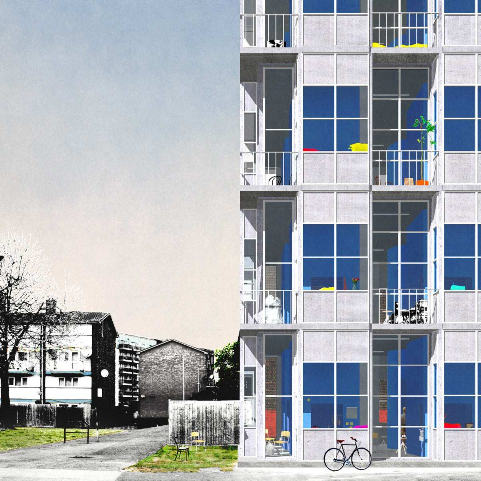 Like a Rolling Stone- Proposal for 33 Boarding Houses in London