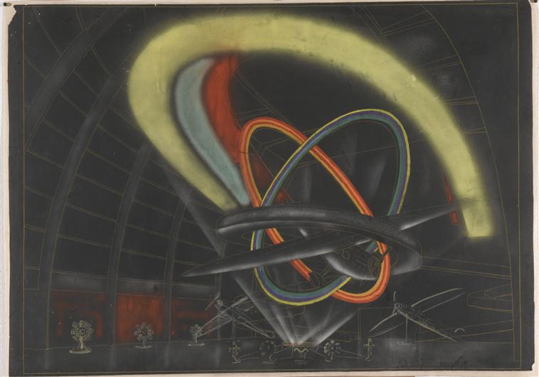 Pavilion de l'aeronautique des arts et des techniques dans la vie moderne, 1937