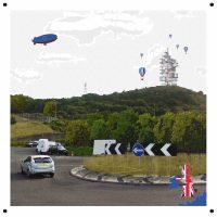 Brexit Monuments 51° 4′ 51.6′′ N, 1° 9′ 57.6′′ E