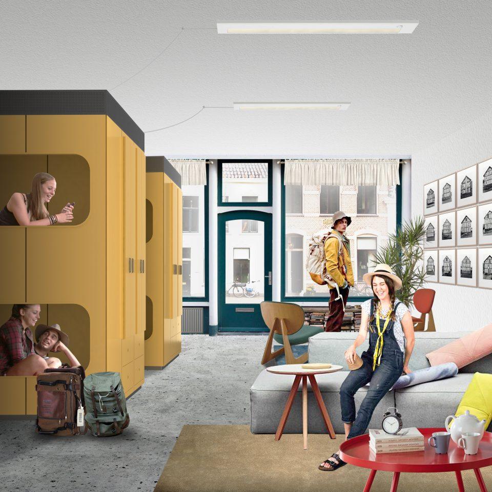 'Temporary Hostel', Kabinet