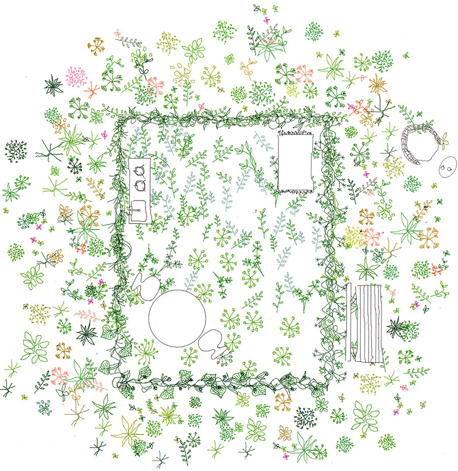 Flowering floorplans by Junya Ishigami