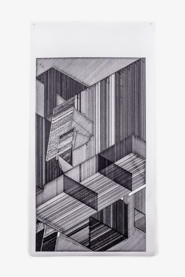 PLAUSIBLE SPACES SERIES — DRAWING #4