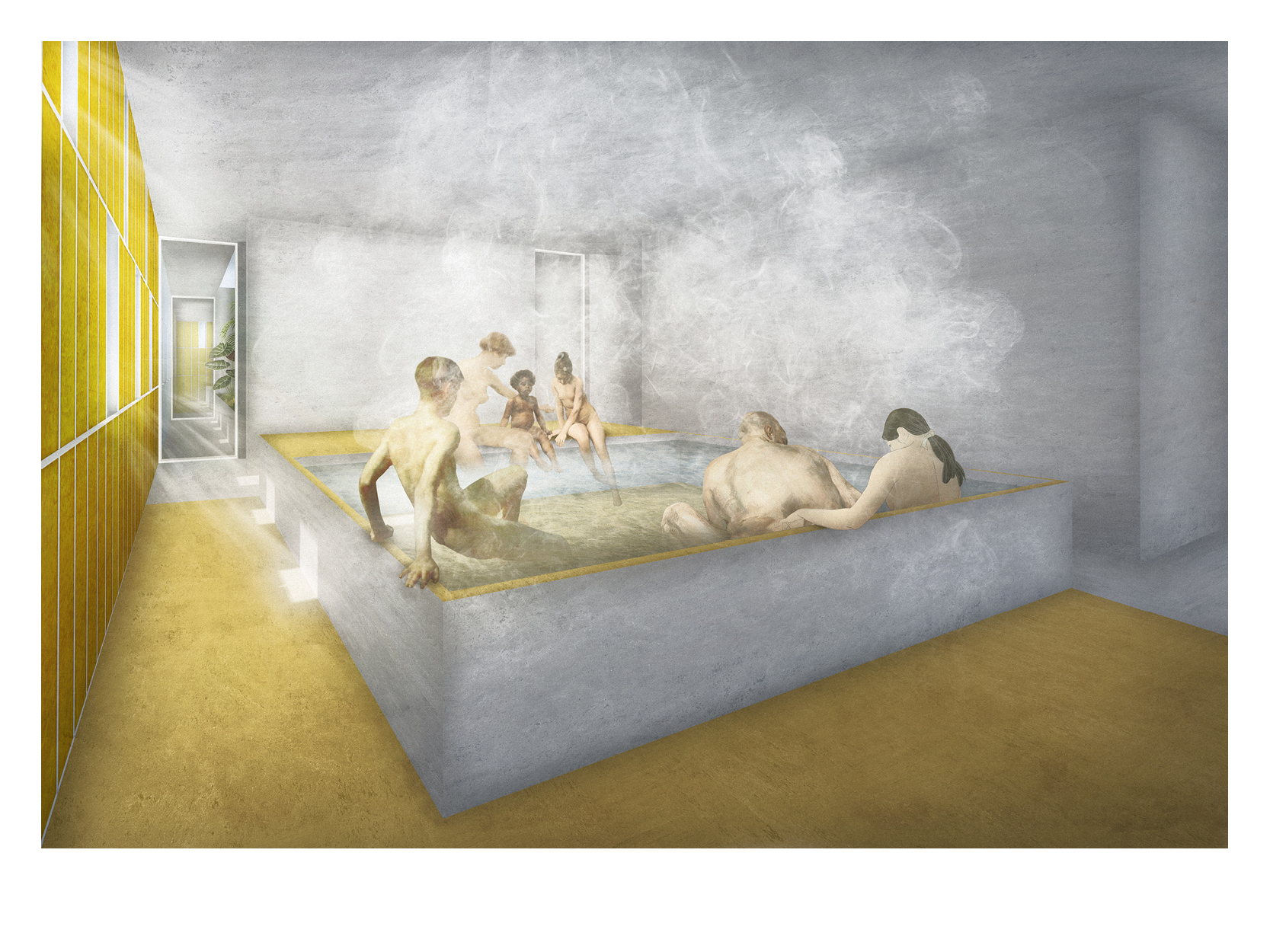 Bath Sharing_A bathhouse for Munich