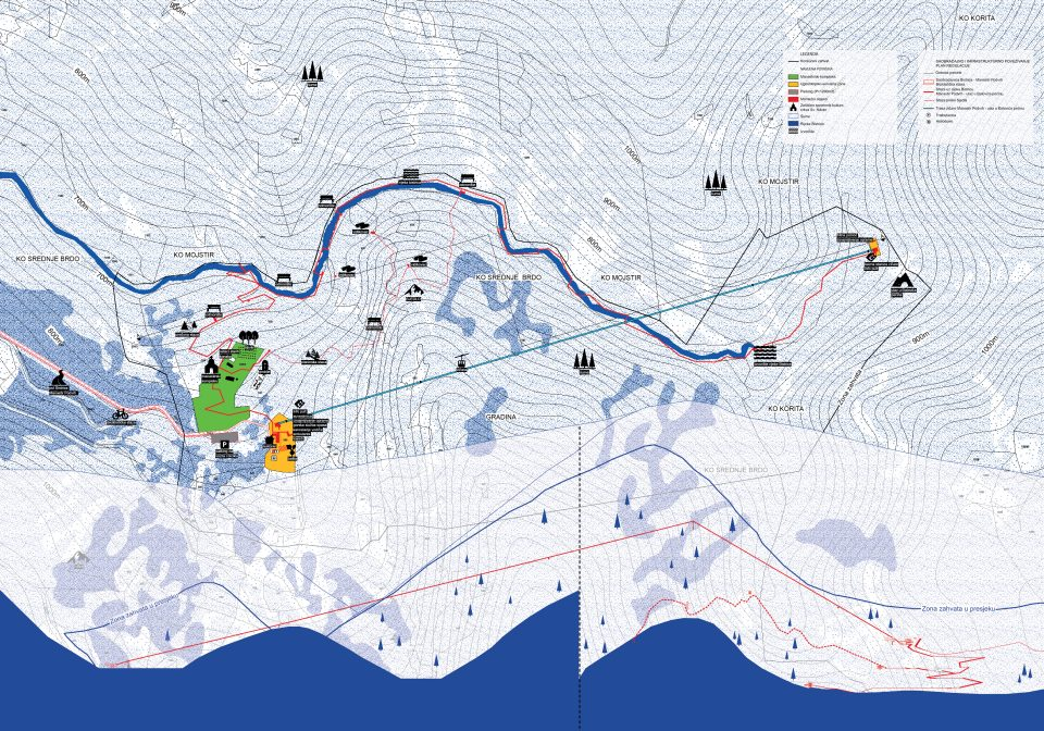 Urban-Architectural Solutions of the Đalovića cave and canyon
