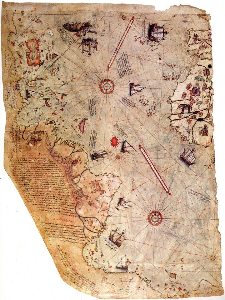 Piri Reis World Map, 1513