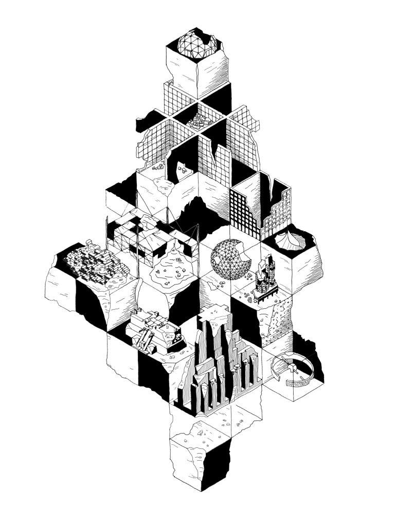 Dystopian Megastructure, 2017