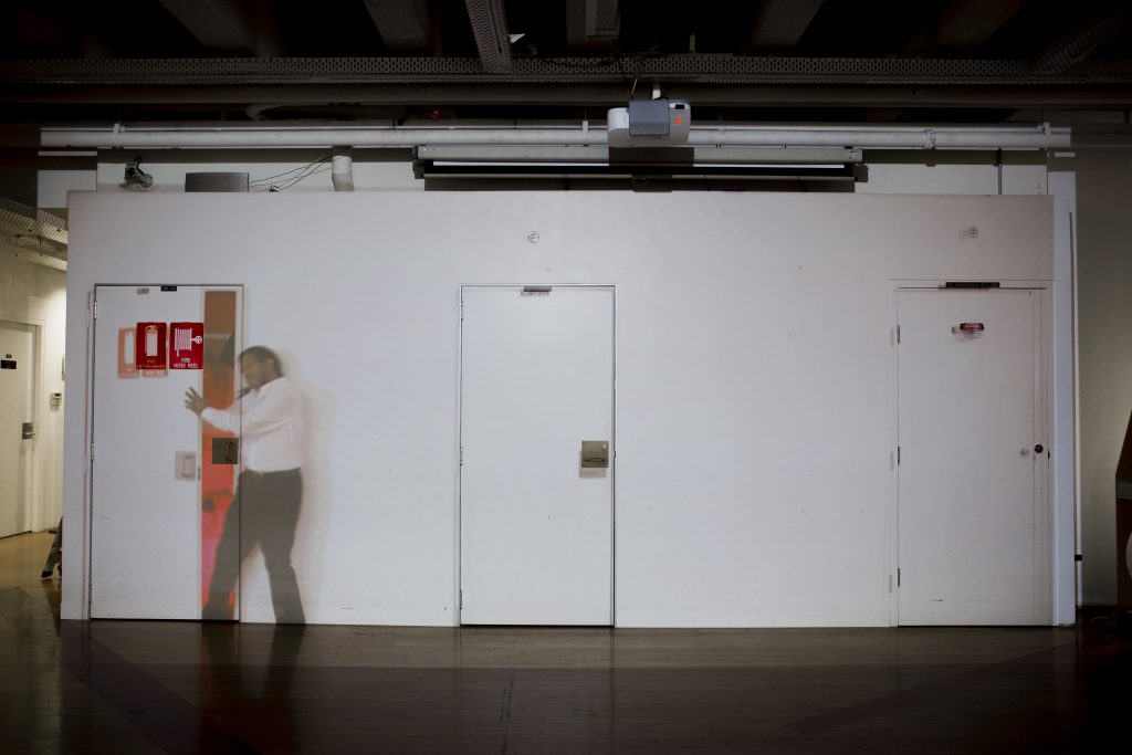 Revel after the Curfew (Tin Sheds Gallery, Sydney, 2018): Bana Hankin, GRANDEZA (Amaia Sanchez-Velasco, Gonzalo Valiente & Jorge Valiente), Miguel Rodriguez-Casellas, Leo Cappeto, Miguel Valenzuela & Laura Touman