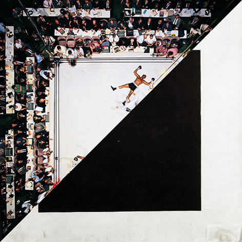 Neil Leifer, Muhammad Ali Vs. Cleveland Williams, Houston Astrodome, 1966 VS Kazimir Severinovič Malevič, Black Square,1915