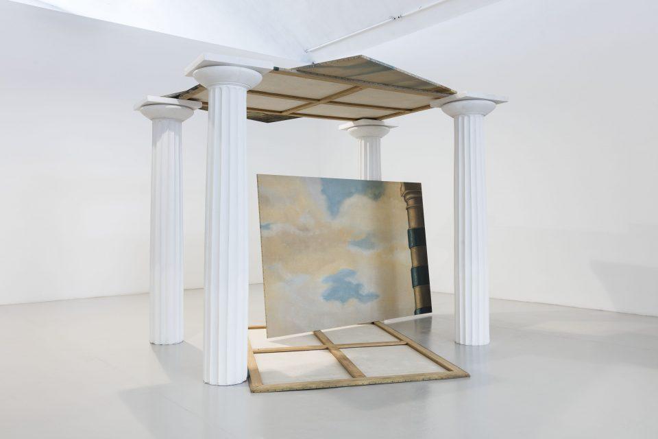 Exhibition view at Galleria Christian Stein