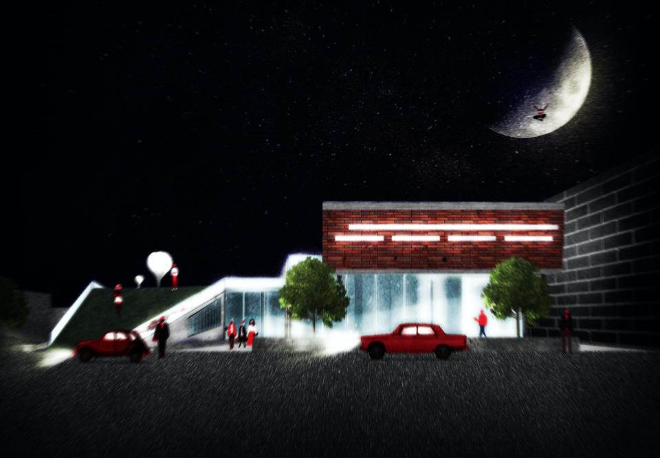 Moonlight on 18th Street