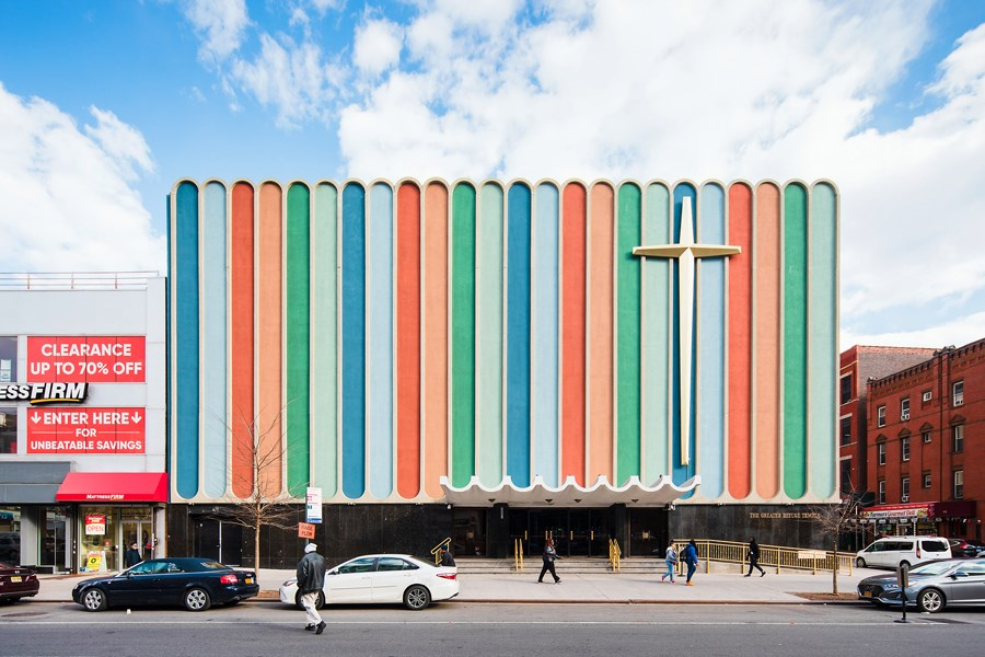 Costas Machlouzarides, Great Refuge Temple, Harlem, New York,1966. Photo credits: Mark Wickens