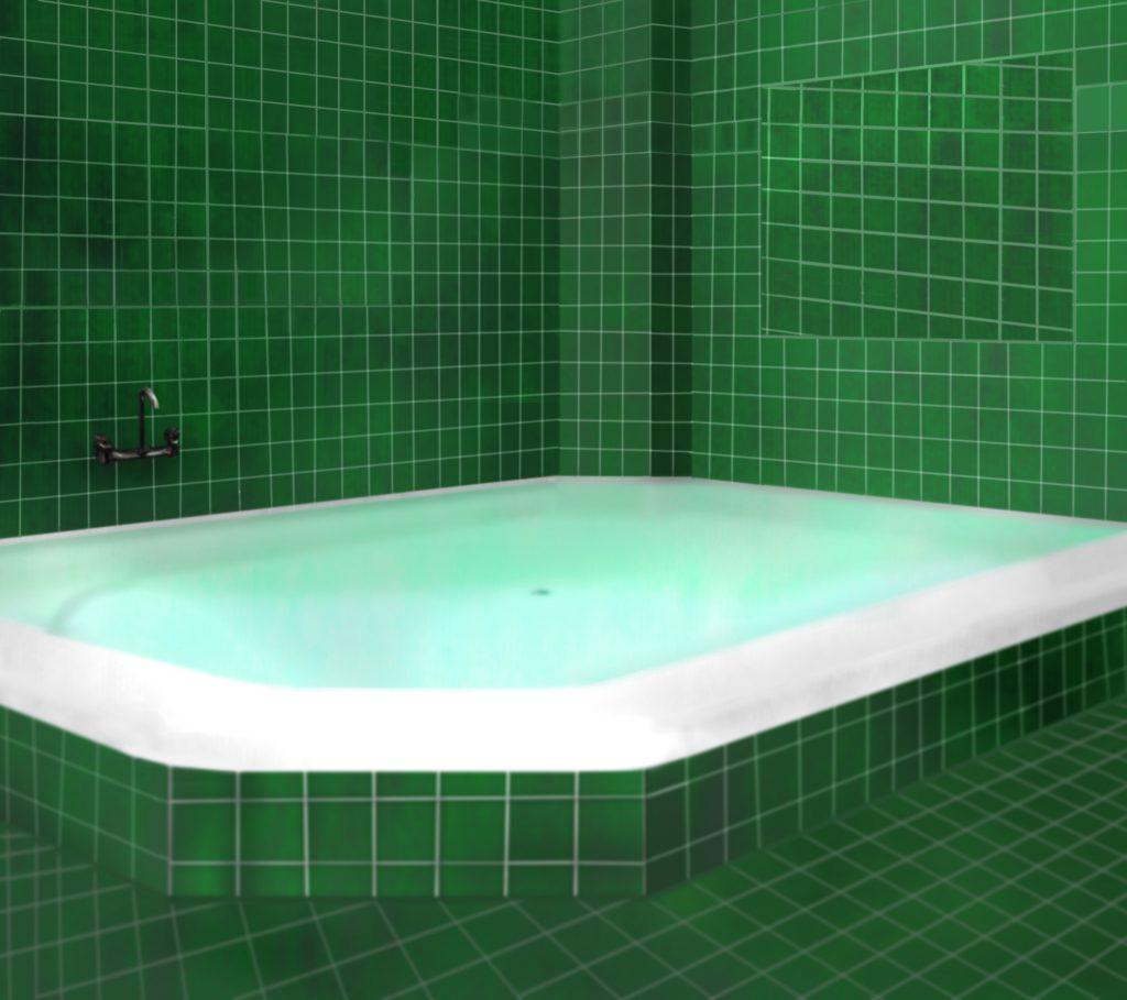 Badkamer Groen (reference)